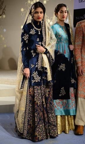 anju modi best bridal lehenga