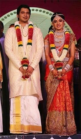 Arathi Pillai and Adithya wedding