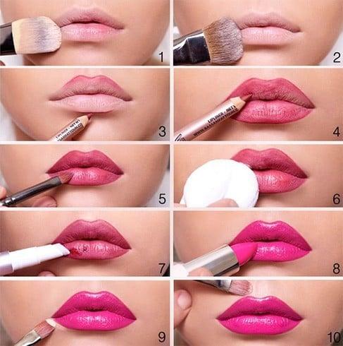 Barbie Lip Makeup