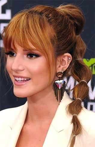 Bella Thorne Hairstyle
