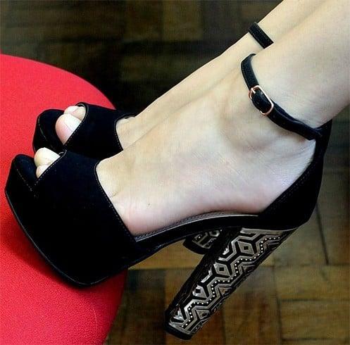 Black Winter Shoes
