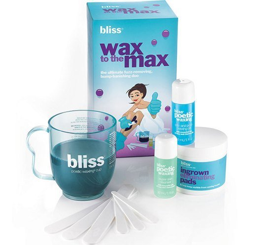 bliss poetic waxing instructions