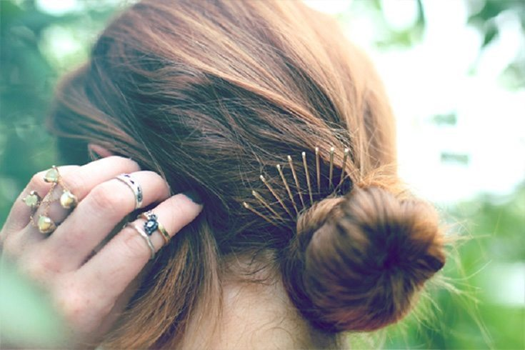 Bobby pins for hair
