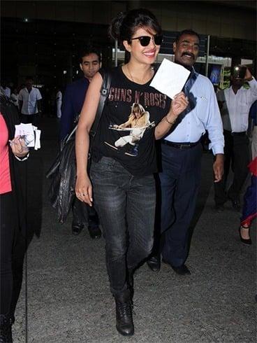 Bollywood celebrities flying fashion