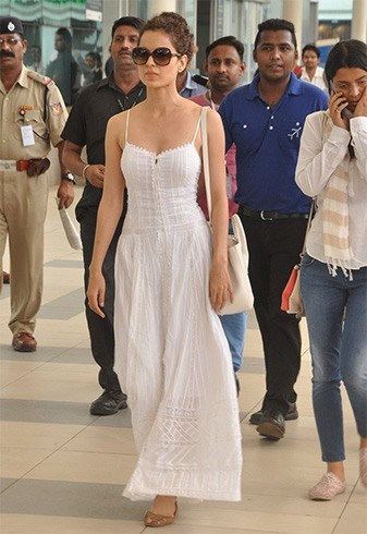 Bollywood celebrities flying in style