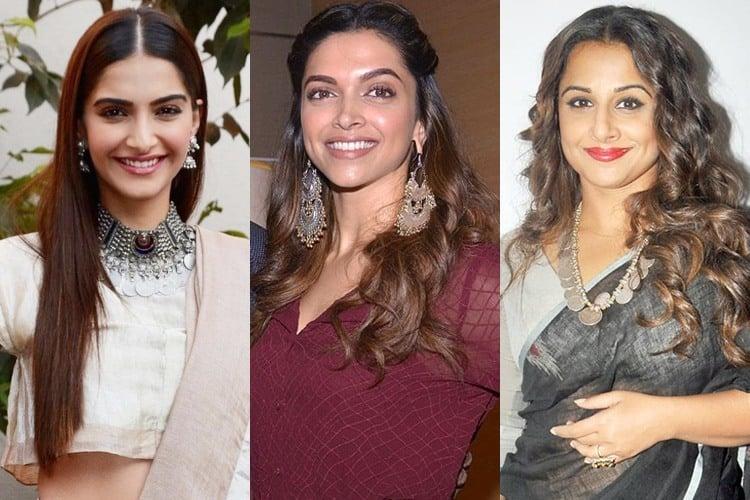Bollywood Celebrities in Tribal Jewellery