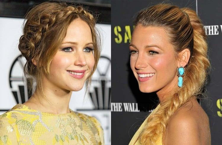 Celebrity Braids Hairstyles