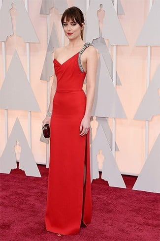 Dakota Johnson at Oscars 2015