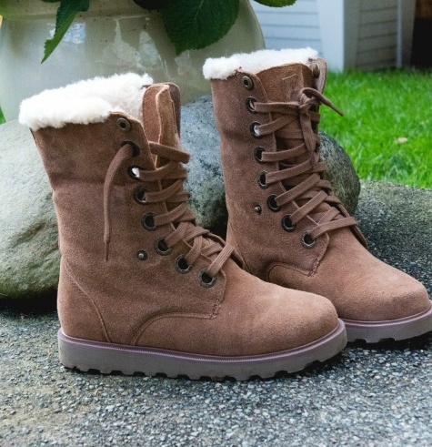 Different types of winter boots