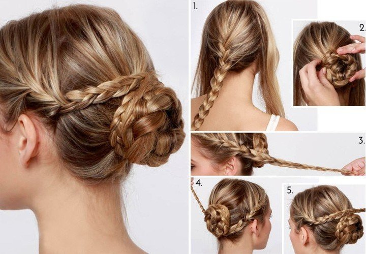 DIY Bun Hairstyle