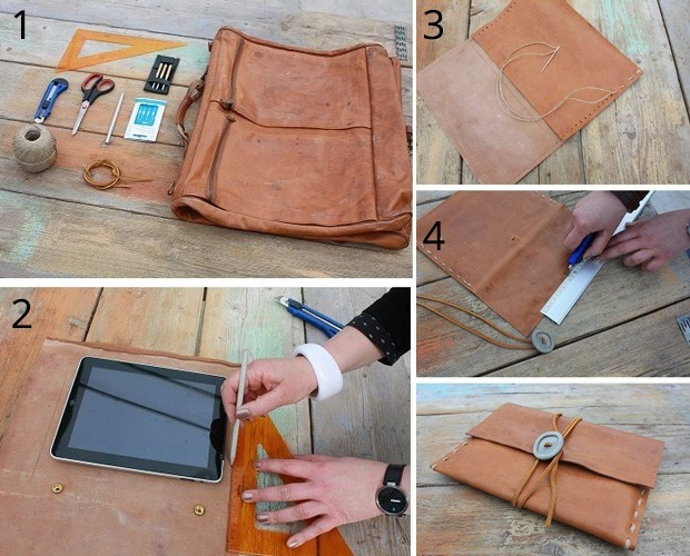 Steps On How To Make IPad Leather Case At Home