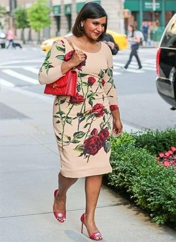 Dolce and Gabbana rose print dress