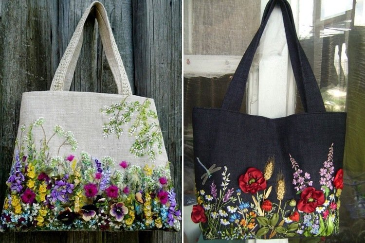 Handmade Embroidered Bags Will Give A Makeover To Your Old