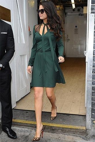 Rmerald dress skirt