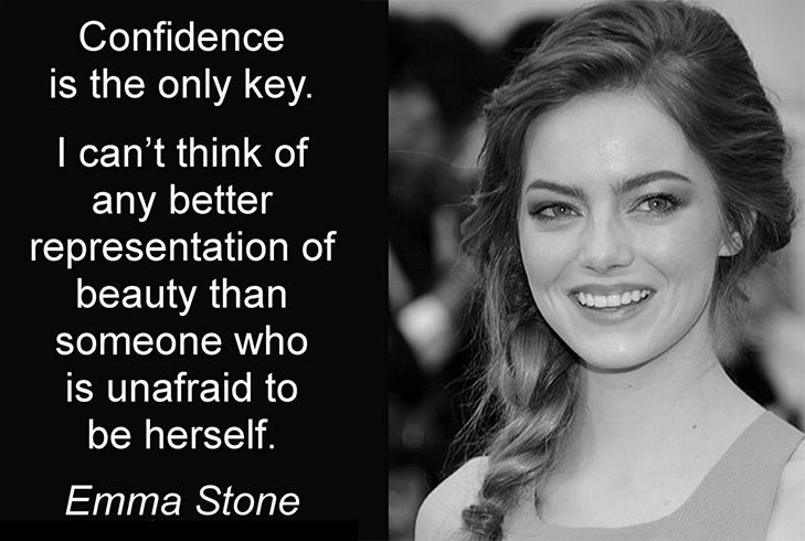 Emma Stone beauty quotes