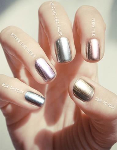 Essie Mirror Metallics Look