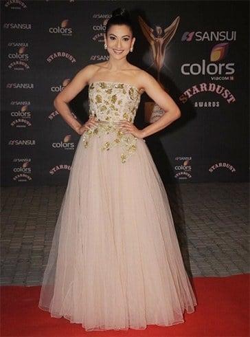 Gauhar Khan at stardust awards