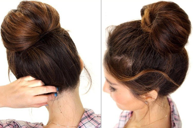 Oily Hair Bun Hairstyles: Now It's Pretty Easy To Hide ...
