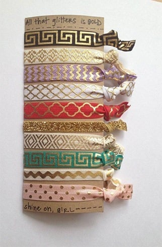 Hair ties for long hair