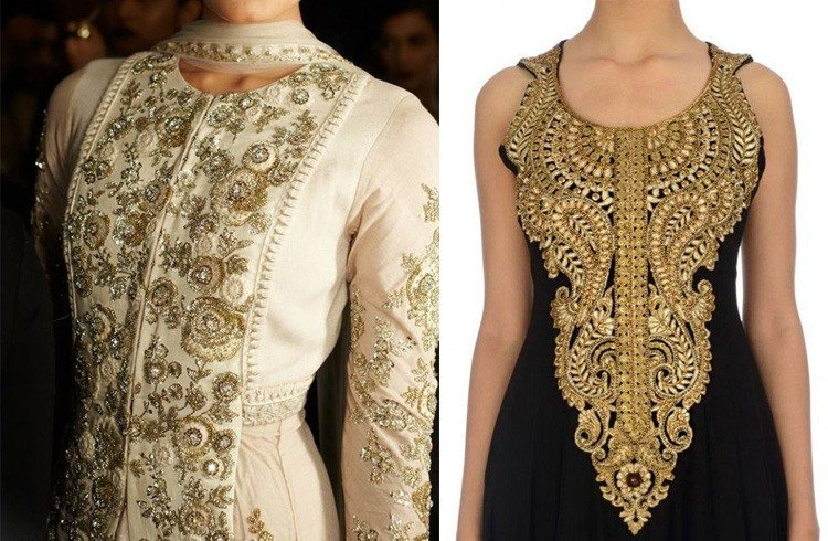 Types of embroidery kurti designs to take it the next