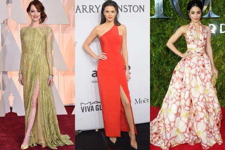 Hollywood Best Dressed Celebrities 2015