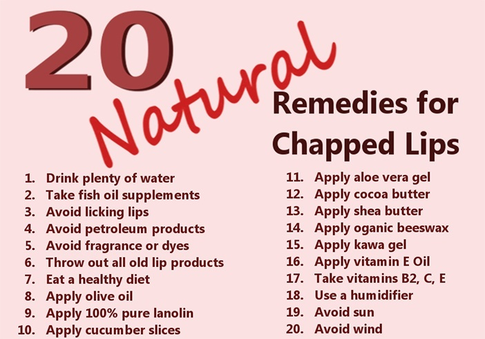 Home Remedies For Dry Lips
