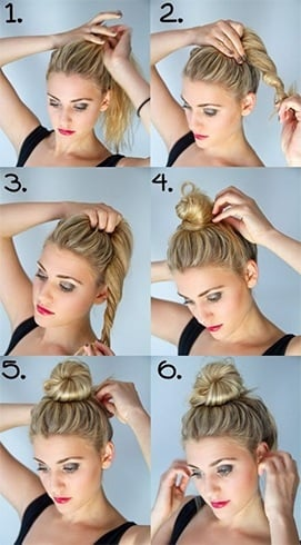 How To Do Top Knot Bun