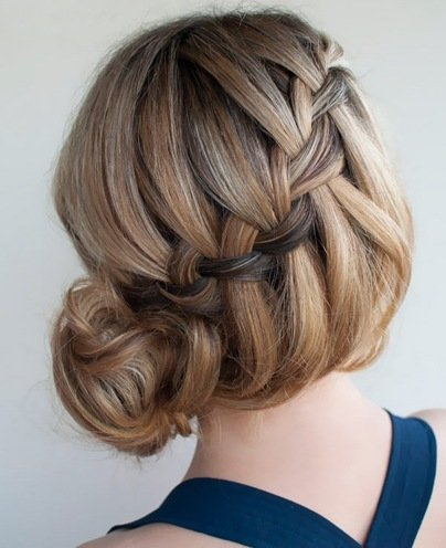 how to make bridal hairstyle for short hair