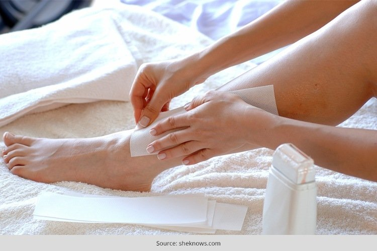 how to wax your legs