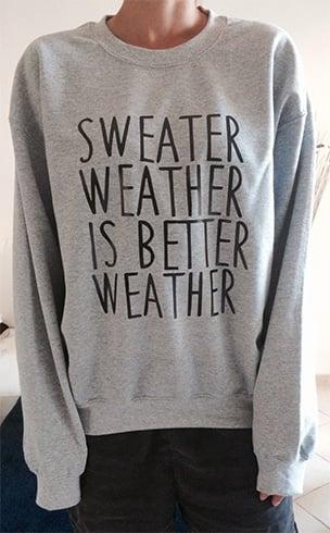 How To Wear Sweatshirt
