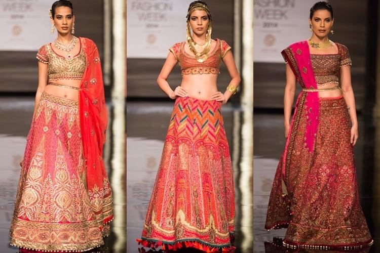 JJ Valaya India Bridal Week 2014