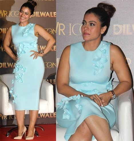 Kajol at Dilwale song launch