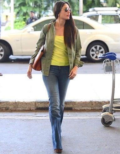 Kareena Kapoor snapped at airport