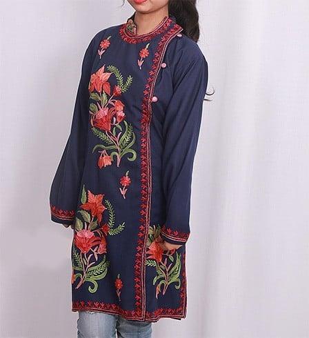 Kashmiri Embroidery Kurti