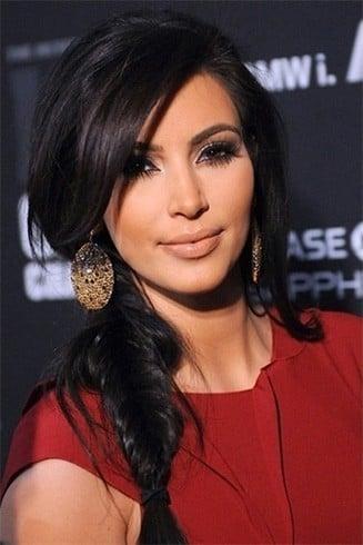 Kim Kardashian Hairstyle