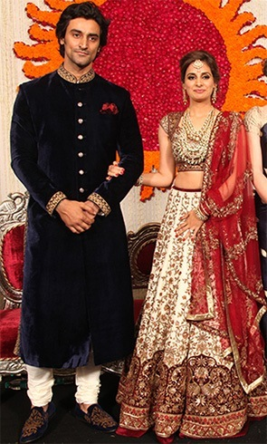 Kunal Kapoor and Naina Bachchan Wedding