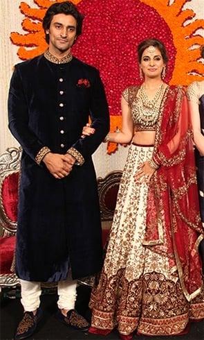 Kunal Kapoor and Naina Bachchan Wedding
