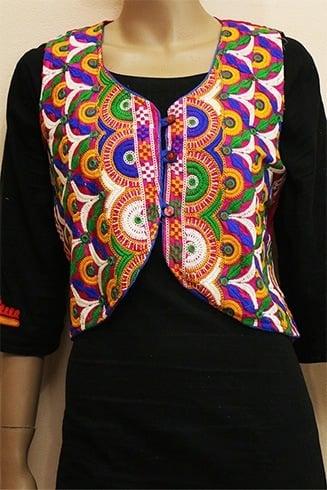 Kutchi Embroidery Kurti
