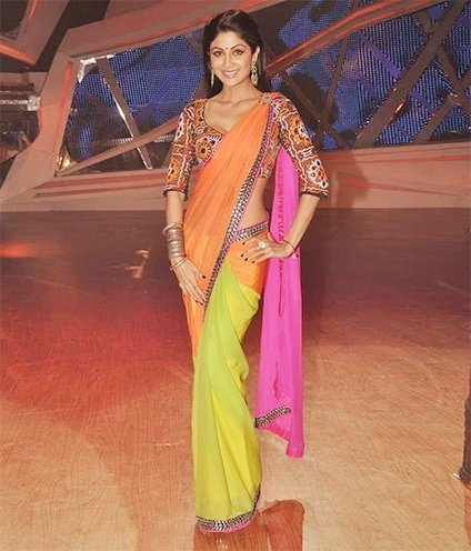 latest designer sarees by neeta lulla