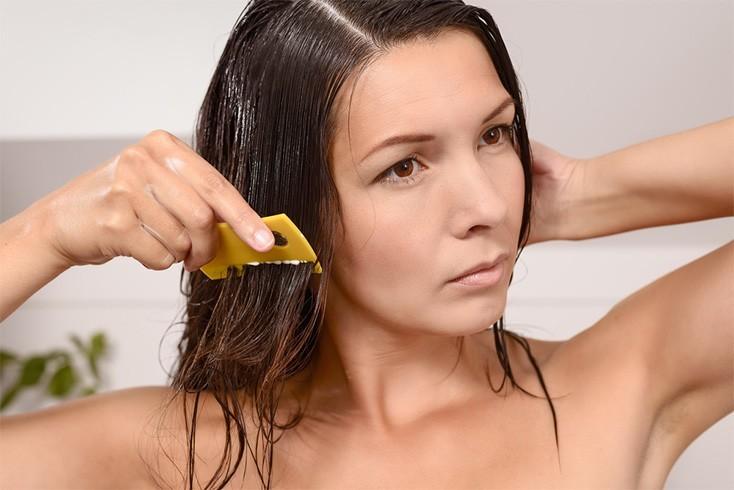 Lemon juice for lice