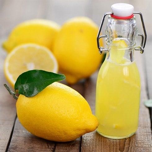 Lemon Juice Hair Treatment