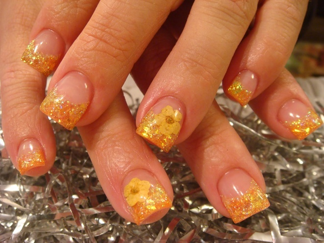 long artificial nails designs