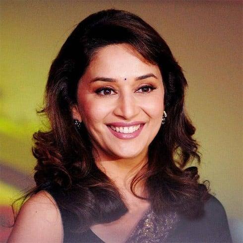 Madhuri Dixit dimples
