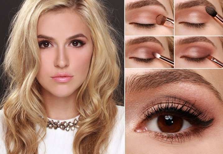 makeup ideas for holiday party