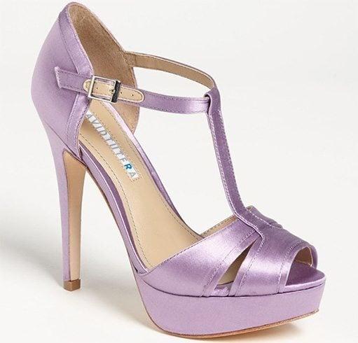 Mauve Platform Sandals