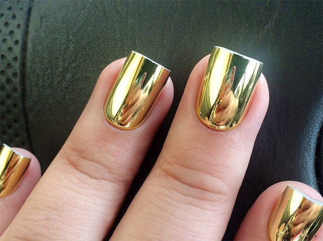 Mirrored Nail Polish