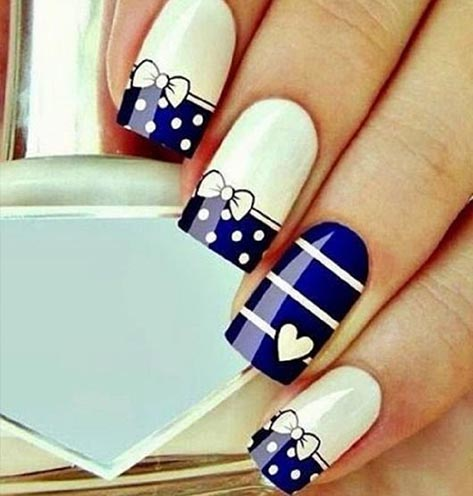 130 easy and beautiful nail art designs 2018 just for you nail art designs tutorial prinsesfo Gallery