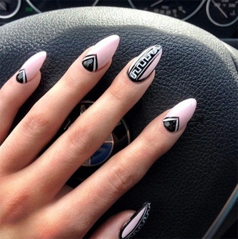 Nail Designs For Stiletto Nails