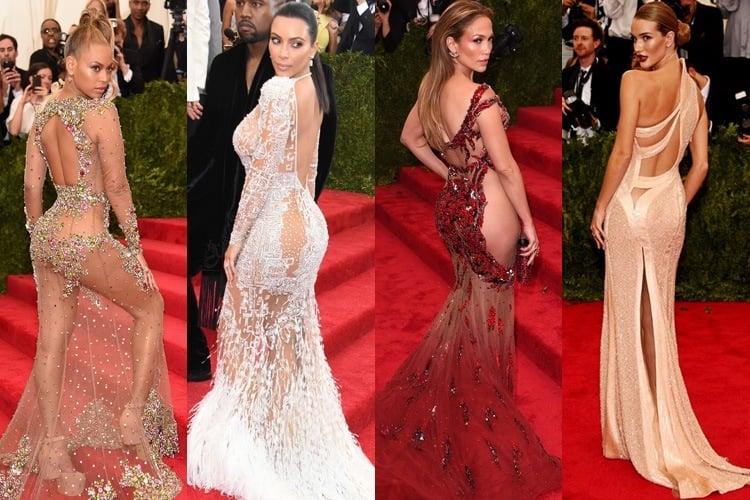 Naked Red Carpet Dresses