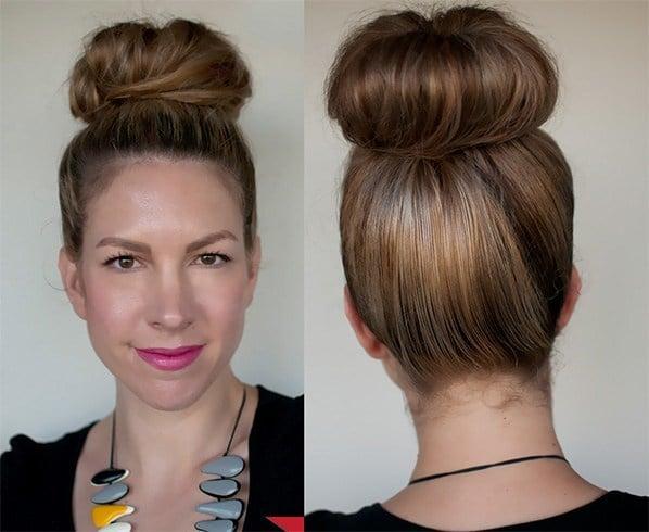 Oily Hair Bun Hairstyles: Now It?s Pretty Easy To Hide Oily Hair!
